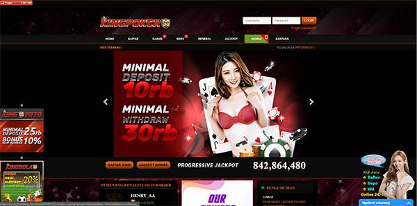 situs poker online terpopuler kingpoker99