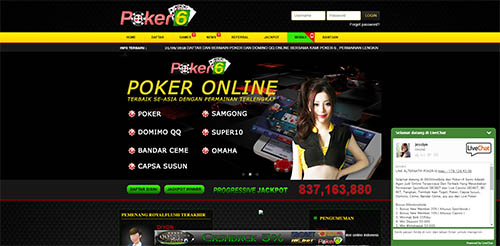 situs resmi poker online terpercaya poker-6