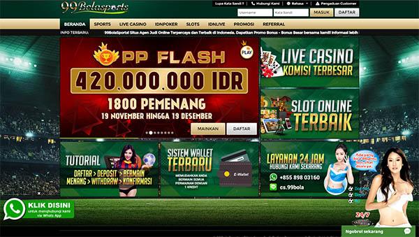 Situs Poker Online Paling Bagus 99BolaSports